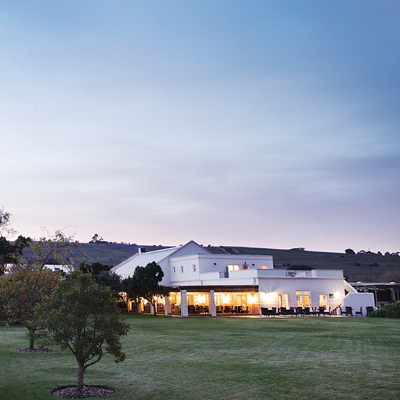 2 nights at the 4* The Spier Hotel
